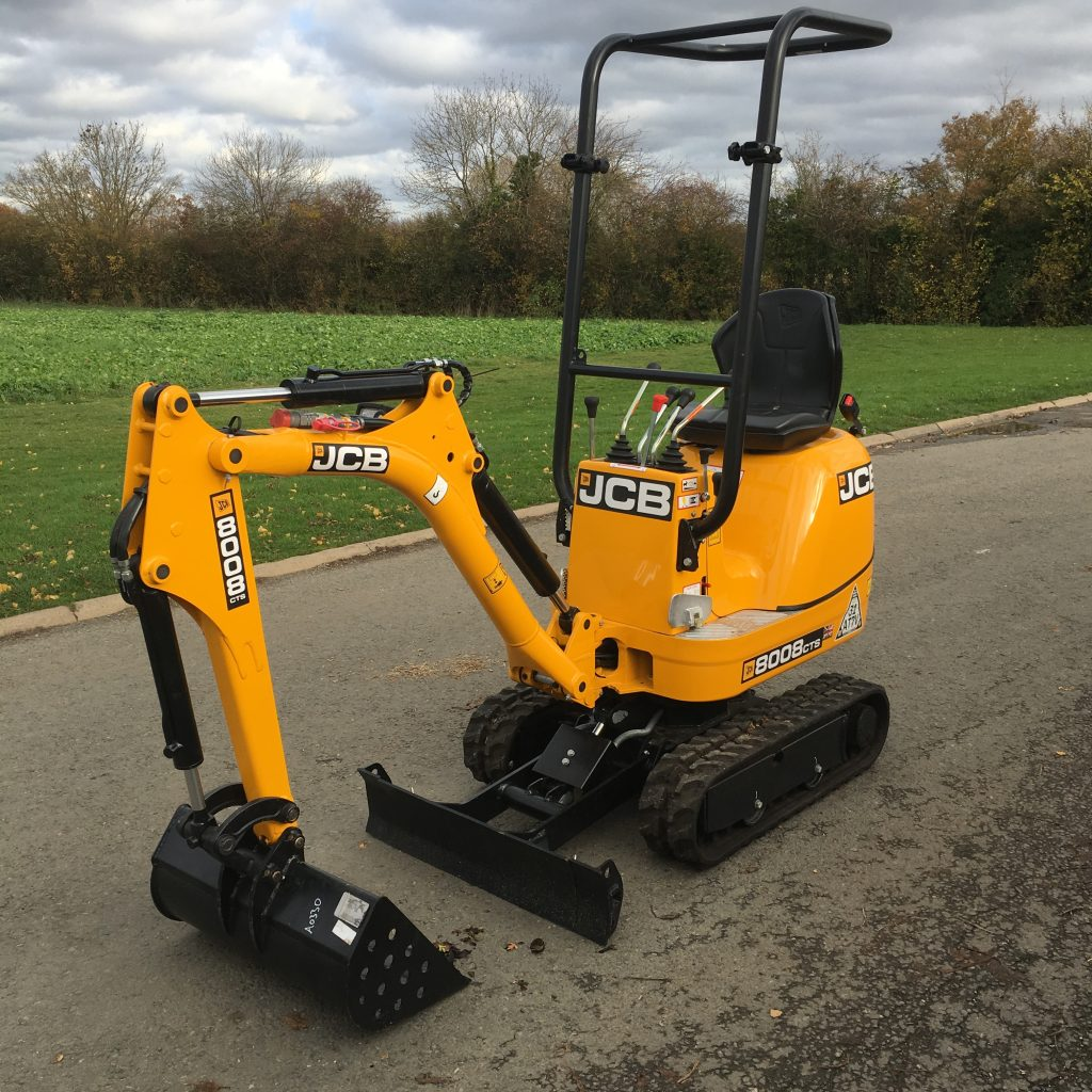 mini digger hire in wirral