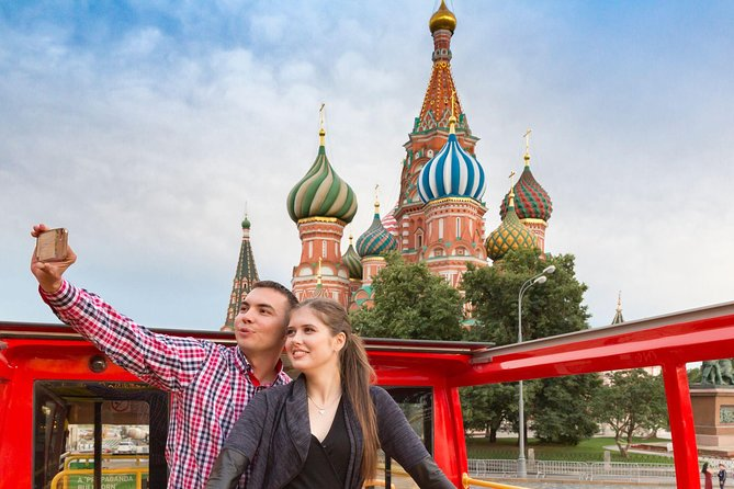 Moscow sightseeing tour